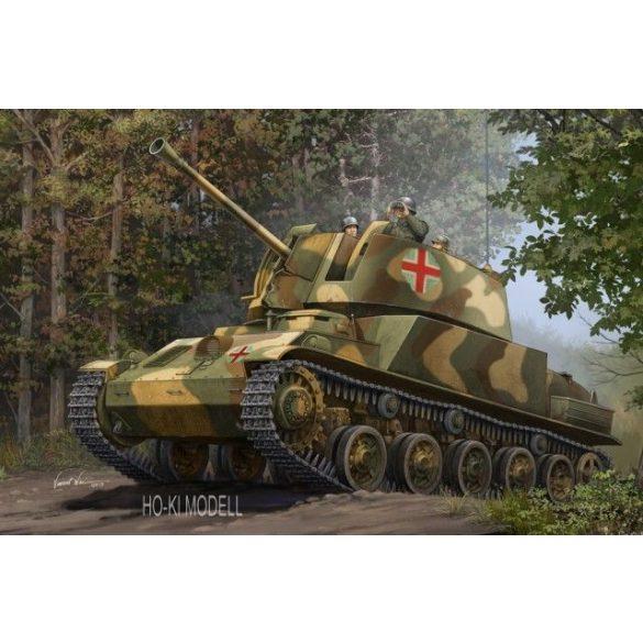 Hobby Boss 83829  Hungarian 40M Nimrod Anti-Aircraft Gun