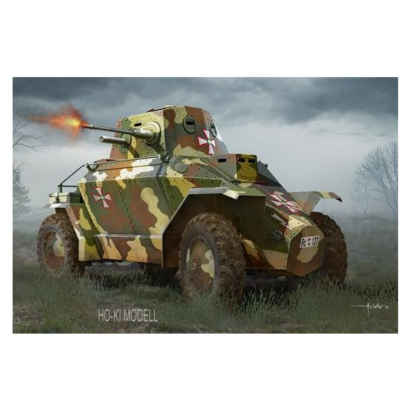Hobby Boss 83866  Hungarian 39M CSABA Armored Car