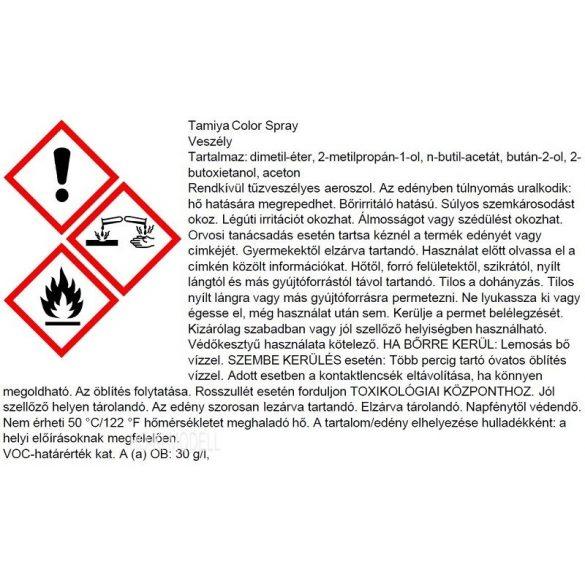 Tamiya 85027 TS-27 Matt White Spray Festék