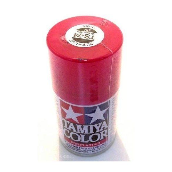 Tamiya 85074 TS-74 Clear Red