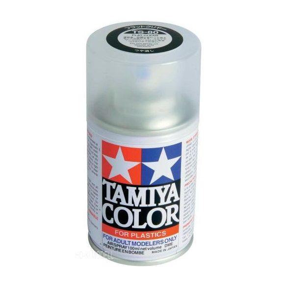 Tamiya 85080 TS-80 Flat Clear