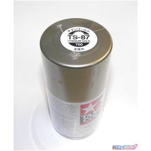 Tamiya 85087 TS-87 Titan Gold