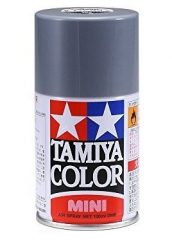 Tamiya 85100 TS-100 Semi-gloss Bright Gun Metal