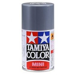 Tamiya 85100 TS-100 Semi Gloss Bright Gun Metal