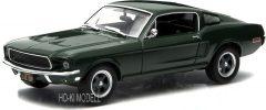 Greenlight  Ford Mustang GT Steve McQueen Bullit - 1968