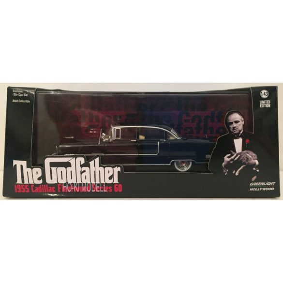 "Greenlight 86492  1955 Cadillac Fleetwood ""The Godfather"""