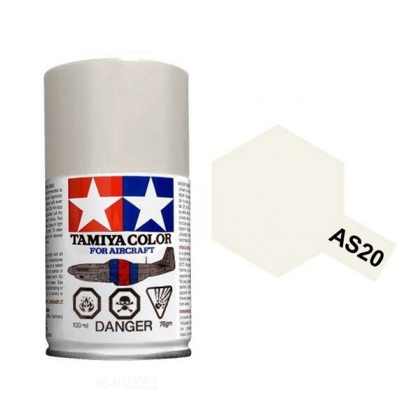 Tamiya 86520 AS-20 Insignia White