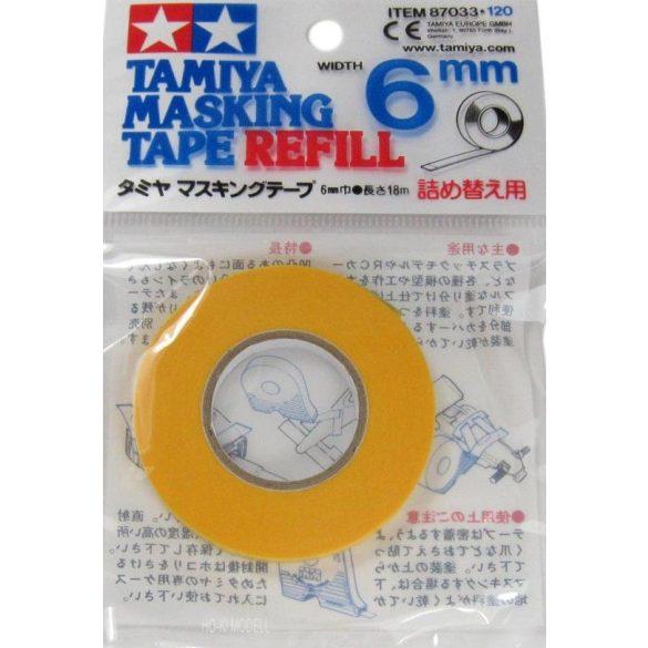 Tamiya87033 Maszkolószalag utántöltő 6mm