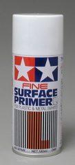 Tamiya 87044 Surface Primer Alapozó FINE  Fehér  180ml