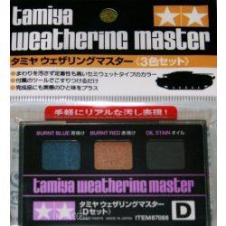 """Tamiya 87088 Weathering Master """"D"""" Set"""
