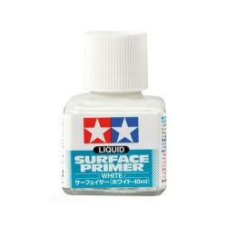 Tamiya 87075 Liquid Surface Primer Fehér Alapozó  (40 ml.)