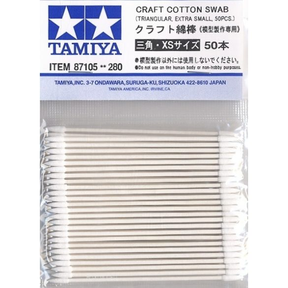 Tamiya 87105 Craft Cotton Swab - Kézműves Pamut Tampon