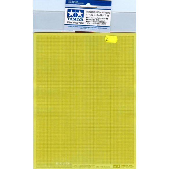Tamiya 87129 Masking Sticker Sheet - Maszkoló Matrica