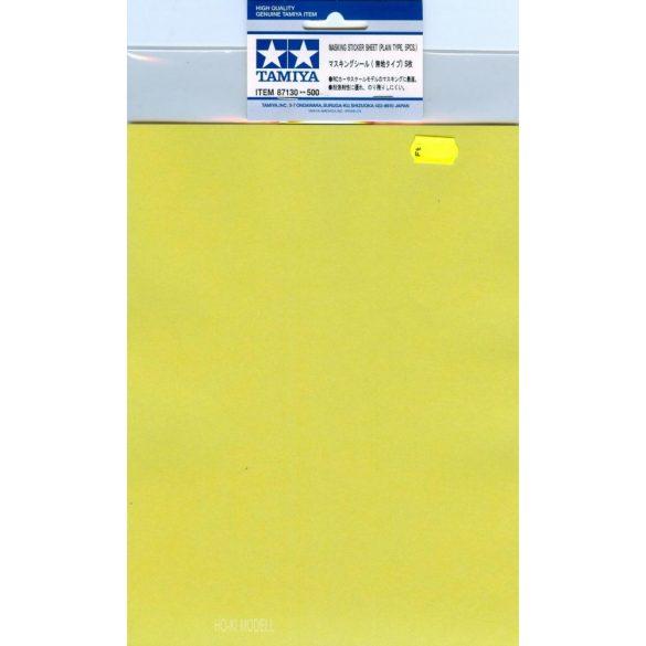 Tamiya 87130 Masking Sticker Sheet - Maszkoló Matrica