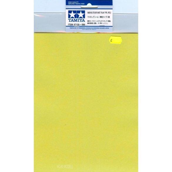 Tamiya 87130 Masking Sticker Sheet - Maszkoló Matrica (5db/csomag)
