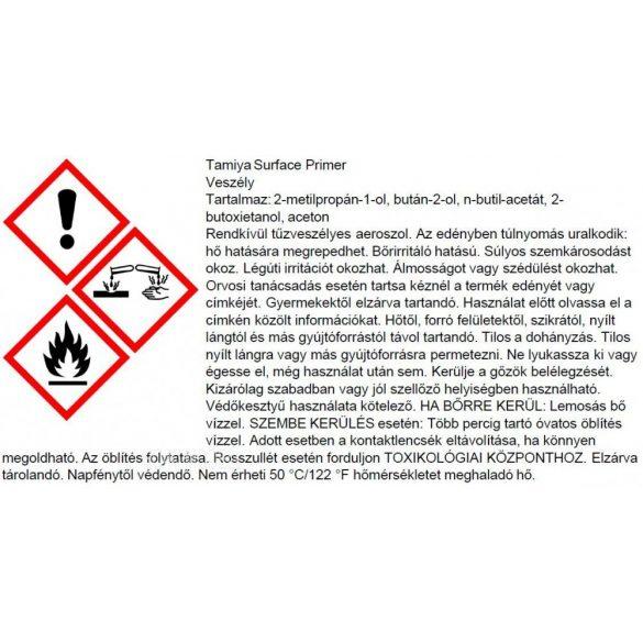 Tamiya 87160 Fine Surface Primer Alapozó ( L) - Oxide Red 180 ml