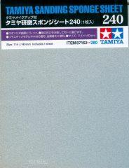 Tamiya 87162 csiszoló szivacs lap 240