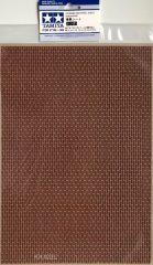 Tamiya 87168 Dioráma Anyaglap (vörös színű tégla)