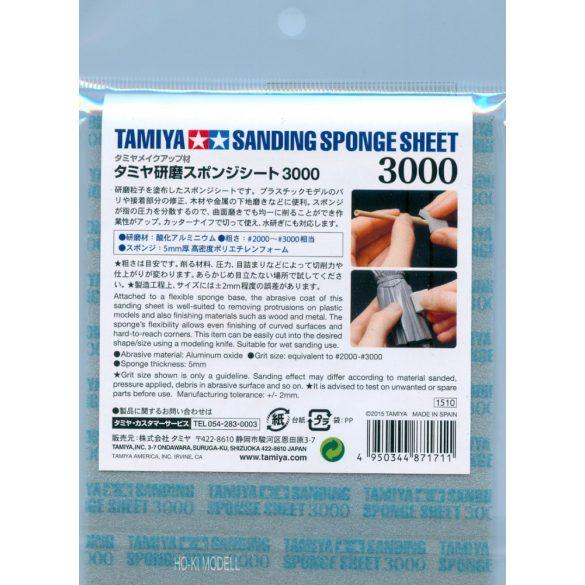 Tamiya 87171 csiszoló szivacs lap 3000