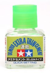 Tamiya Extra híg ragasztó  (Quick-Setting) 40ml