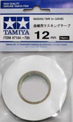 Tamiya Maszkolószalag  flexibilis 12mm