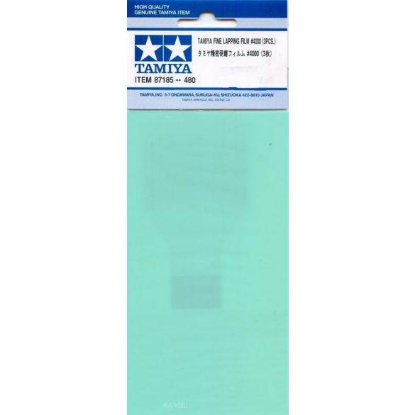 Tamiya 87185 Fine Lapping Film 4000 - Finom  Csiszoló Film