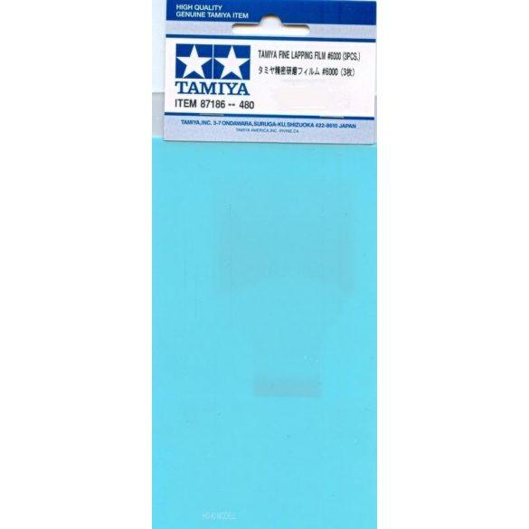 Tamiya 87186 Fine Lapping Film 6000 - Finom Csiszoló - Polirozó Film