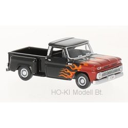 Oxford CP65004 Chevrolet Stepside Pick Up, black/Decorated, 1965