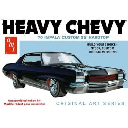 Amt 895 Heavy Chevy Impala ('70 Impala Custom SS Hard Top)