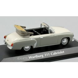 Maxichamps 940015930 Wartburg A311 Cabriolet 1958