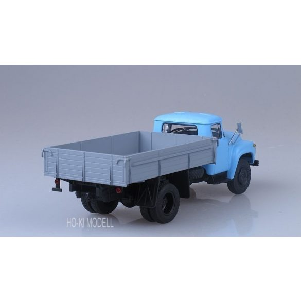 AIST 1017 ZIL 130 Platós Teherautó (Kék/szürke)