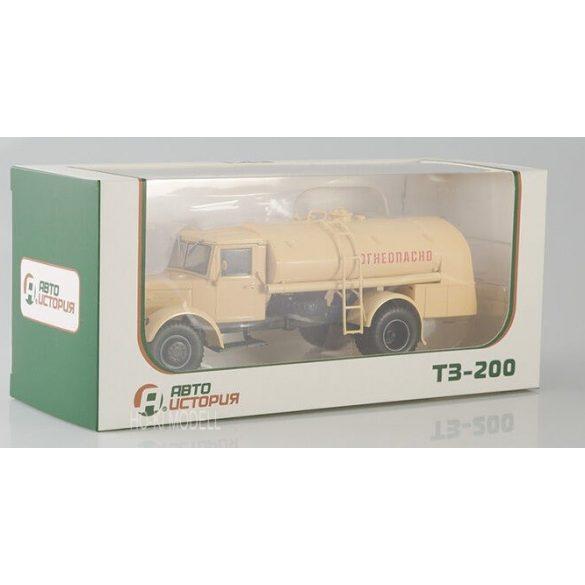 AIST 1109 MAZ-200 TZ-200 Tartályos Teherautó