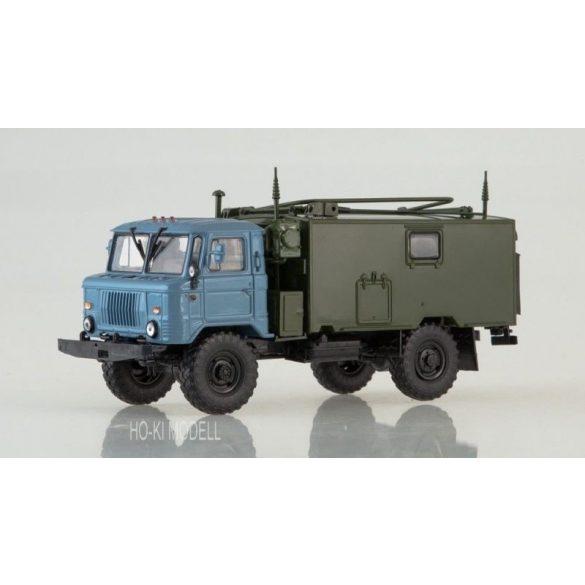AIST 1163 GAZ 66 Command post vehicle KSHM R-142N