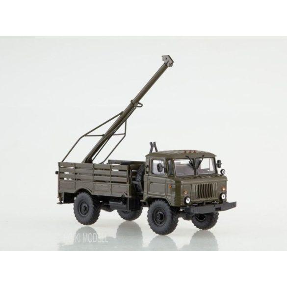 AIST 1166 GAZ 66 Teherautó BM-302 Fúrógéppel