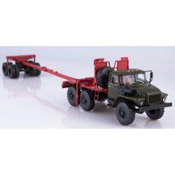 AIST 1174 URAL-432024-10 logging truck