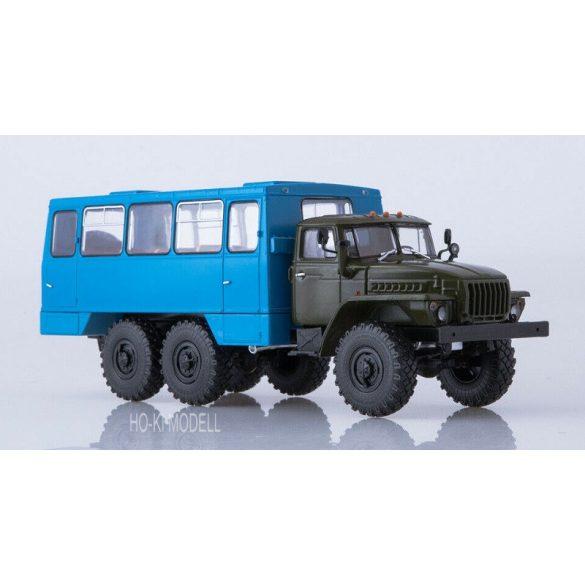 AIST 1187 URAL-4320  Bus-Truck Vahta  NEFAZ-42112