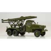 AIST 1190 Studebaker US6 U3 with Soviet BM-13 Katusha Multiple rocket launcher