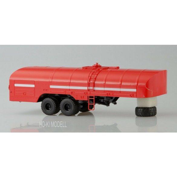 AIST 7015 KRAZ 258B1 Tűzoltó Nyergesvontató TZ-22 Tartály Trélerrel