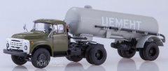 AIST ZIL 130 V1 TC-4 Cementes Félpótkocsi