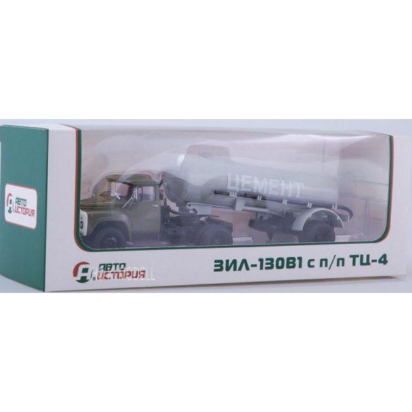 AIST 7021 ZIL 130 V1 TC-4 Cementes Félpótkocsi