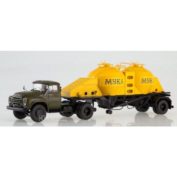 AIST 7044 ZIL 130 V1 & K4-AMG Liszt Szállító Félpótkocsi