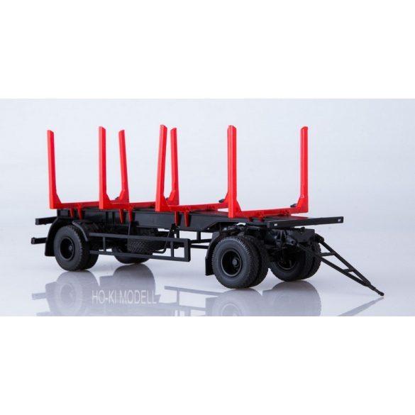 AIST 7054 MAZ 83781 Farönkszállító Pótkocsi