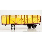AIST 7058 ODAZ-857B Állatszállító Félpótkocsi