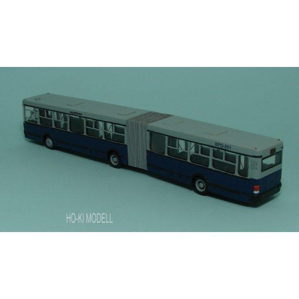 """Wumm Modell Ikarus 435 csuklós BKV Autóbusz  """"7E Blaha Lujza tér M"""""""