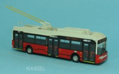 """Wumm Modell Ikarus 412 GT Trolibusz """"79-Kárpát utca"""""""