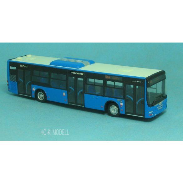 """Wumm Modell MAN Lion's City Autóbusz - Volánbusz """"64A Solymár Templom tér"""""""