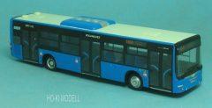"""Wumm Modell MAN Lion's City Budapest VT-Arriva """"213 Móricz Zsigmond Körtér"""""""