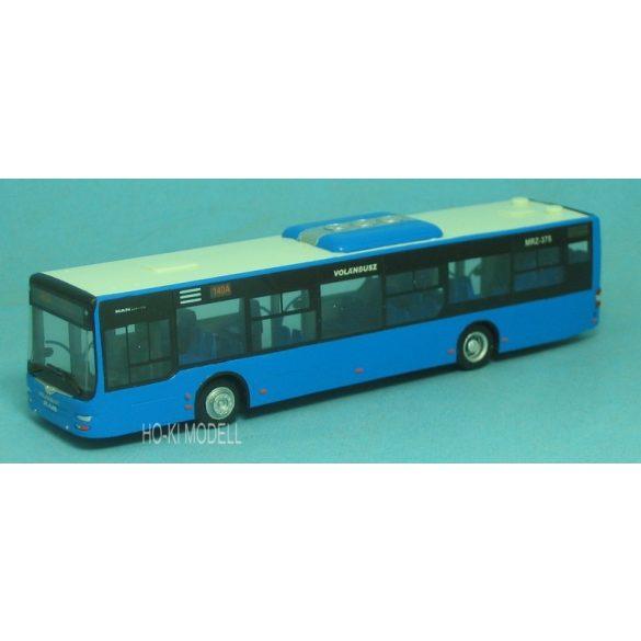 """Wumm Modell MAN Lion's City Autóbusz - Volánbusz """"140A Budaörsi lakótelep"""""""