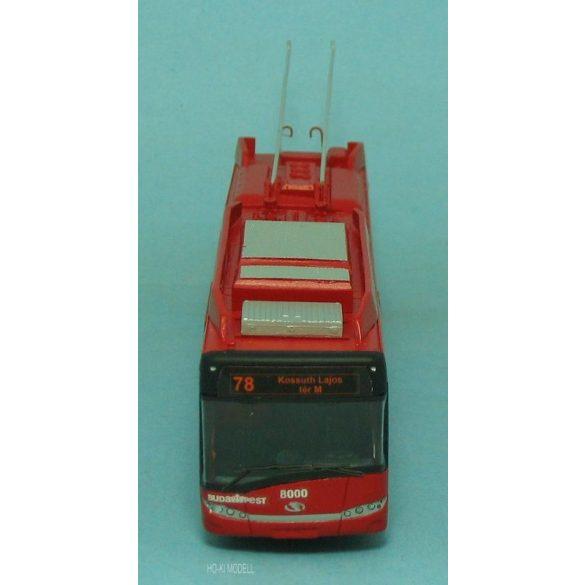 "Wumm Modell Solaris-Skoda T-12 BKV Trolibusz - trolley bus ""78 Kossuth Lajos tér M"""