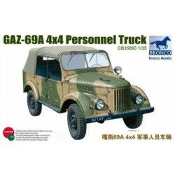 Bronco Models 35093 Gaz-69A 4X4 Personnel Truck - 4WD